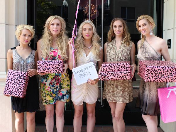 Classy bachelorette party ideas - Andaz Hotel San Diego Rockstar Suite 8