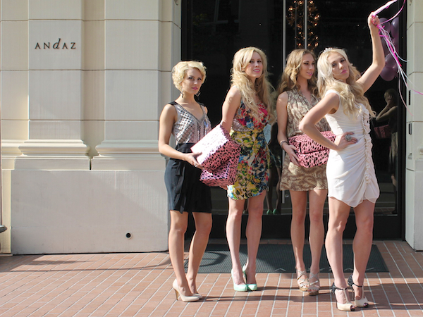 Classy bachelorette party ideas - Andaz Hotel San Diego Rockstar Suite 9
