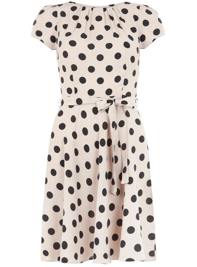 Dorothy Perkins Billie and Blossom polka dot dress