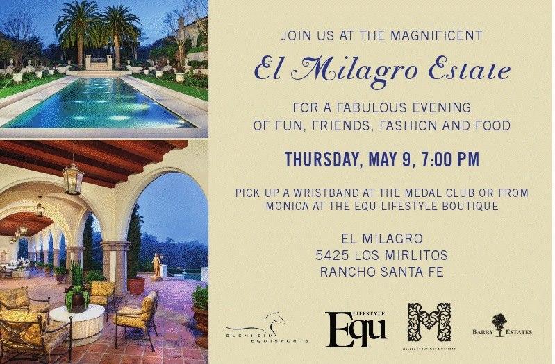 Equ Magazine Hosts Melero Fashion Show At El Milagro Estate In Rancho Santa Fe