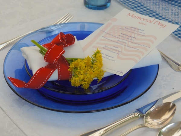 Memorial Day Ideas For Table Decorations and A Healthy Menu