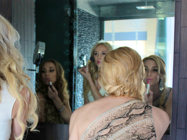 Nubry Bachelorette Party At Andaz Hotel - Hair and Makeup