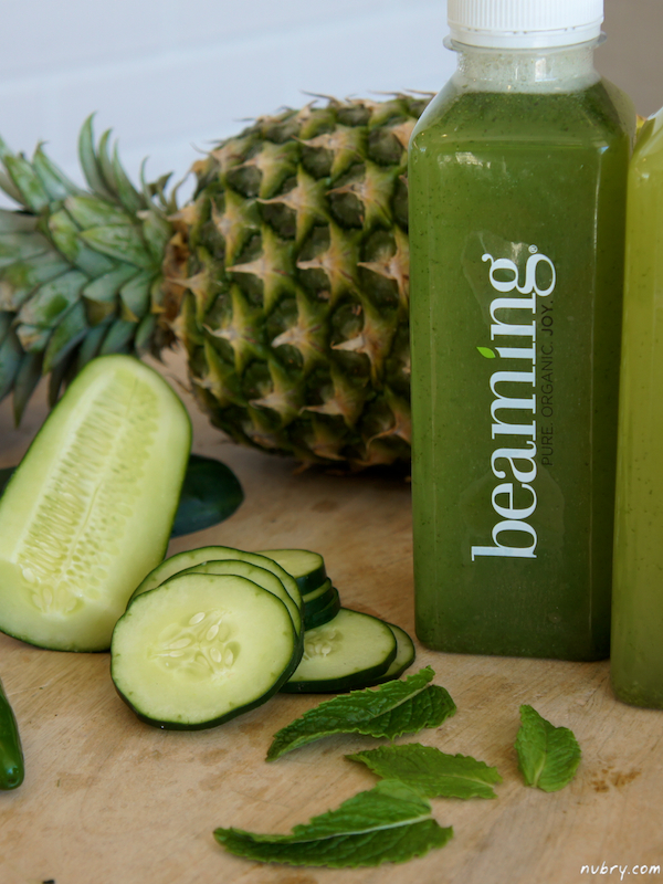 Beaming serves up healthy juices for Fitwall workout Party