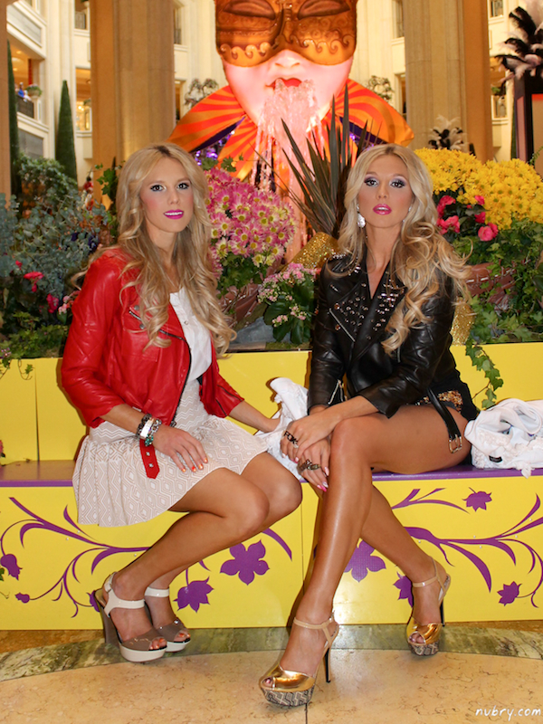Britt and Gretchen Hackmann at The Palazzo Las Vegas for Carnevale