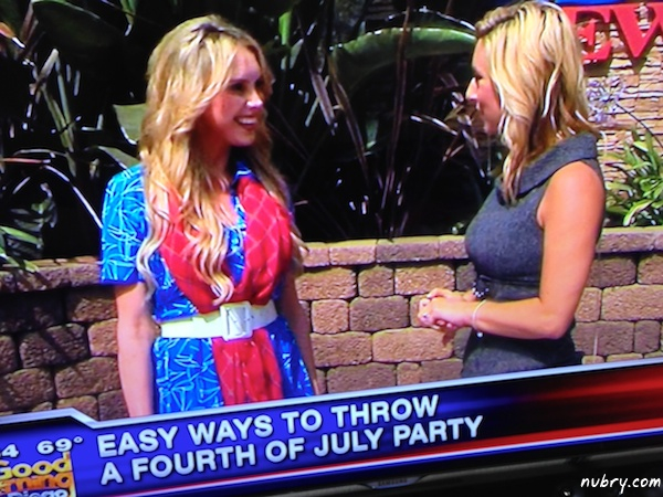 Alexis DelChiaro Britt Hackmann KUSI news july 4 party 1