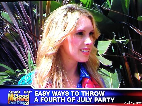 Alexis DelChiaro Britt Hackmann KUSI news july 4 party 5