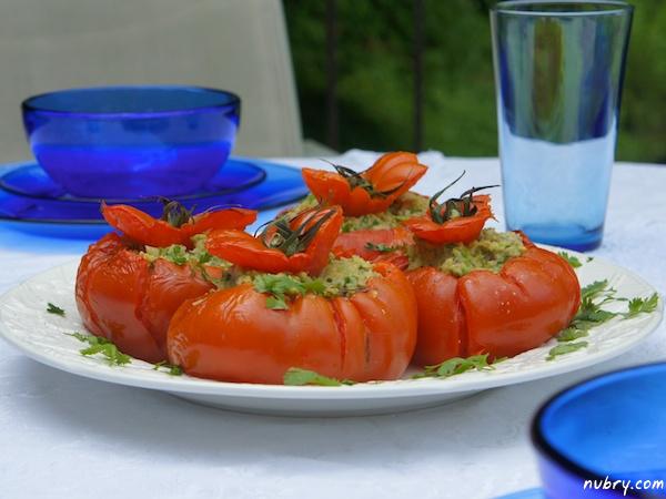 Healthy summer lunch