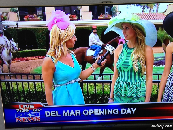 Alexis Delchiaro 9 Racetrack Fashions And Hats To Stun At Opening Day In Del Mar LIVE On KUSI