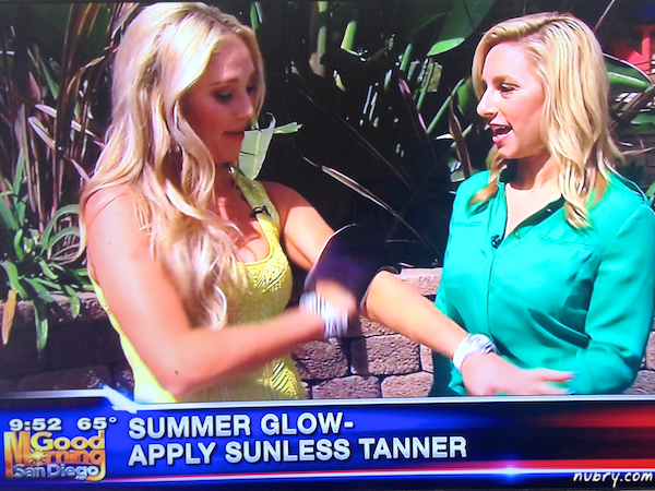 Summer Beauty Tips by Nubry at KUSI News San Diego
