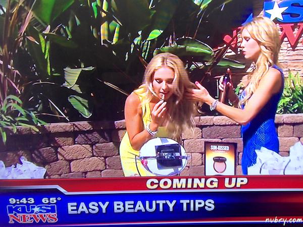 Britt and Gretchen Hackman From Nubry - Summer Beauty Tips - Kusi News San Diego 3