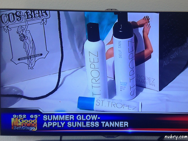 Britt and Gretchen Hackman From Nubry - Summer Beauty Tips - Kusi News San Diego 8