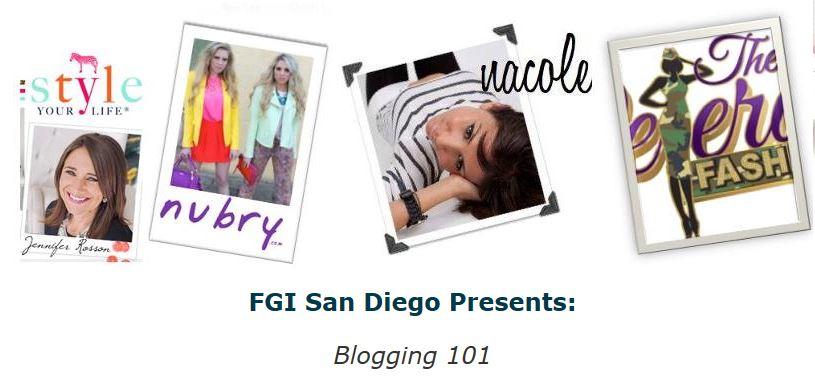 Expert Bloggers Speak At Blogging Seminar Hosted By FGI San DiegoTo