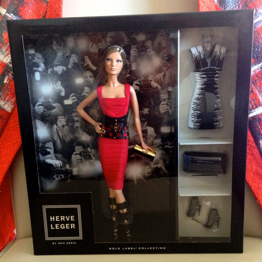 Limited edition Herve Leger x Barbie!