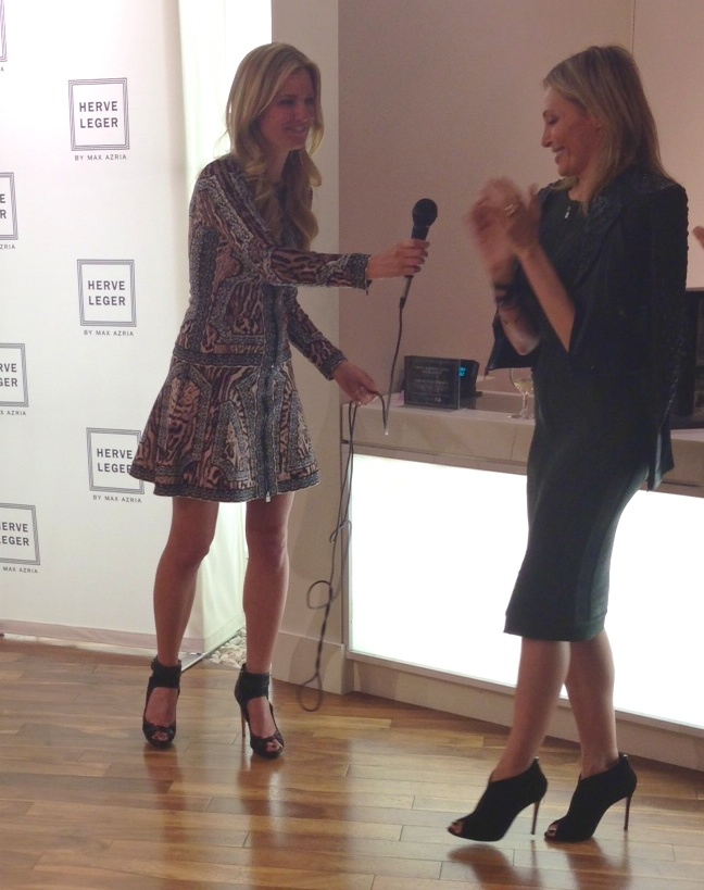 Herve Leger Barbie Finally!! Launch Party at Herve Leger Boutique In West Hollywood
