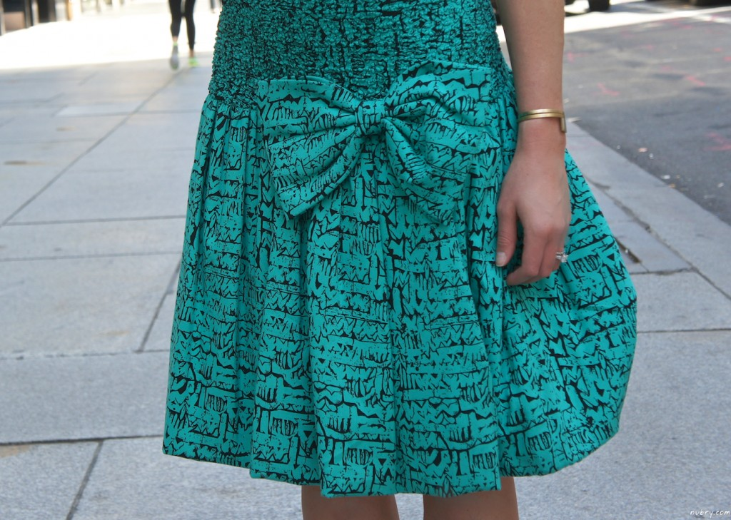 how to wear the drop waist dress