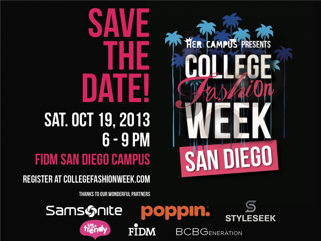 Upload Outfit Photos To Win Prizes At College Fashion Week