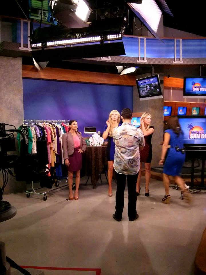 nubry on channel 6 san diego CW - dress for success - workplace looks on a budget