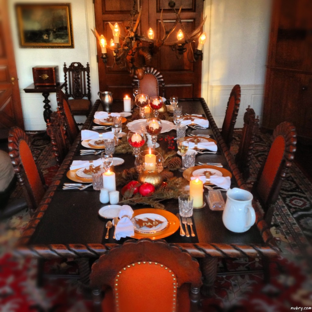 DIY thanksgiving table setting or seat setting nubry 13