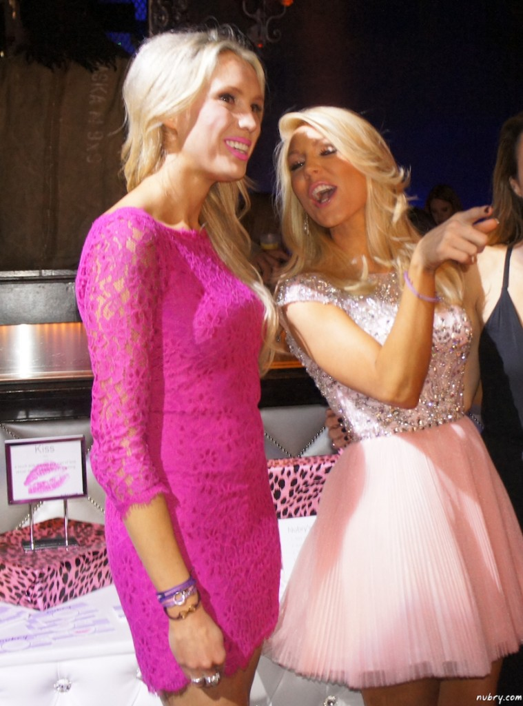 Gretchen Rossi And Cat Sadler Glow At The Kiss Bar At Bags To Benefit