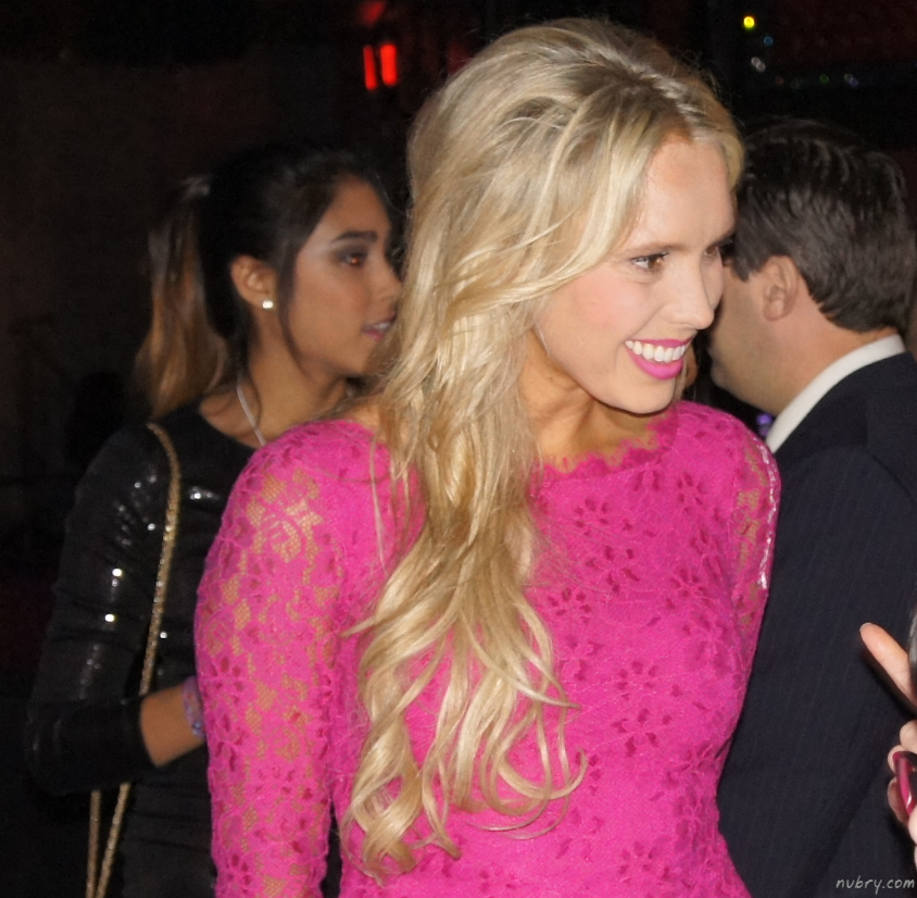 Gretchen Rossi Wears Pink At The Kiss Bar At Bags To Benefit