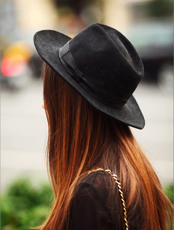 8 Hair Accessories And Easy Styling Tips For A Bedhead To Top Knot Bun trilby