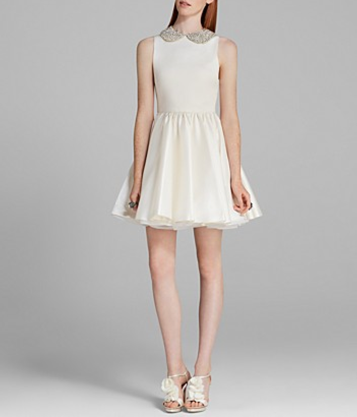 peter pan collar dresses - Alice + Olivia Lollie Peter Pan Collar Dress