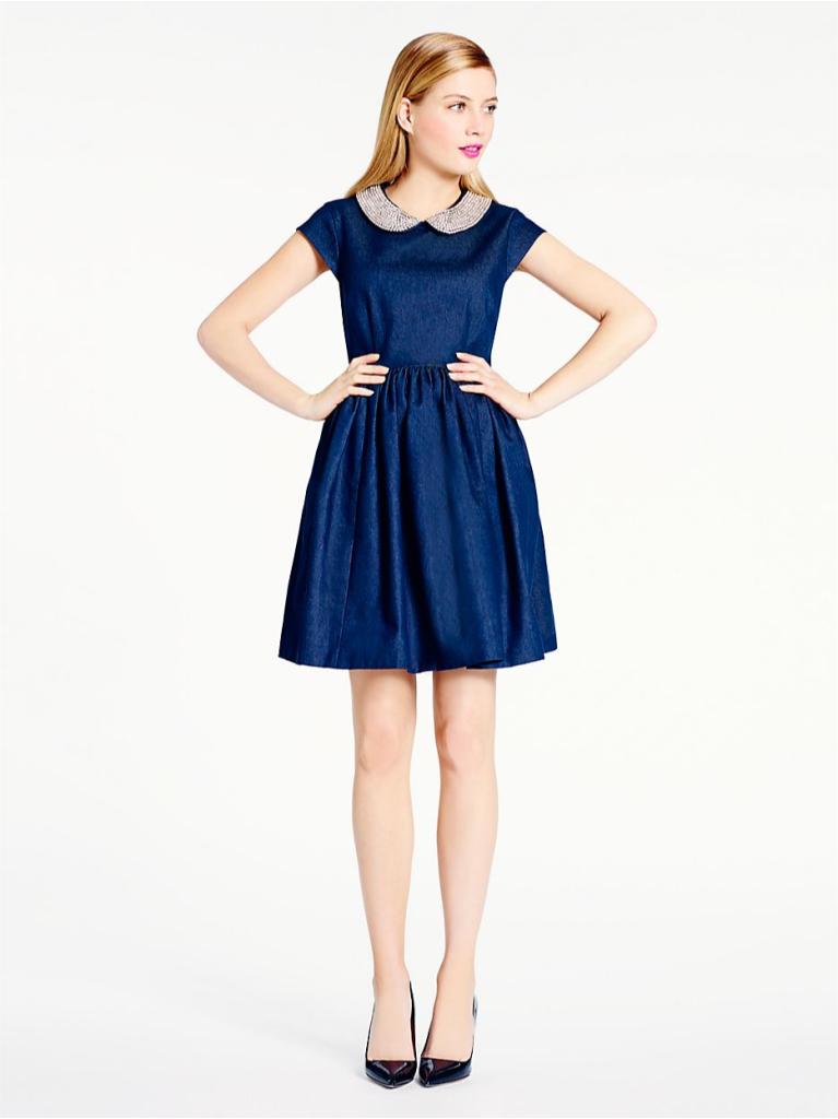 peter pan collar dress - fall 2014 holiday dresses