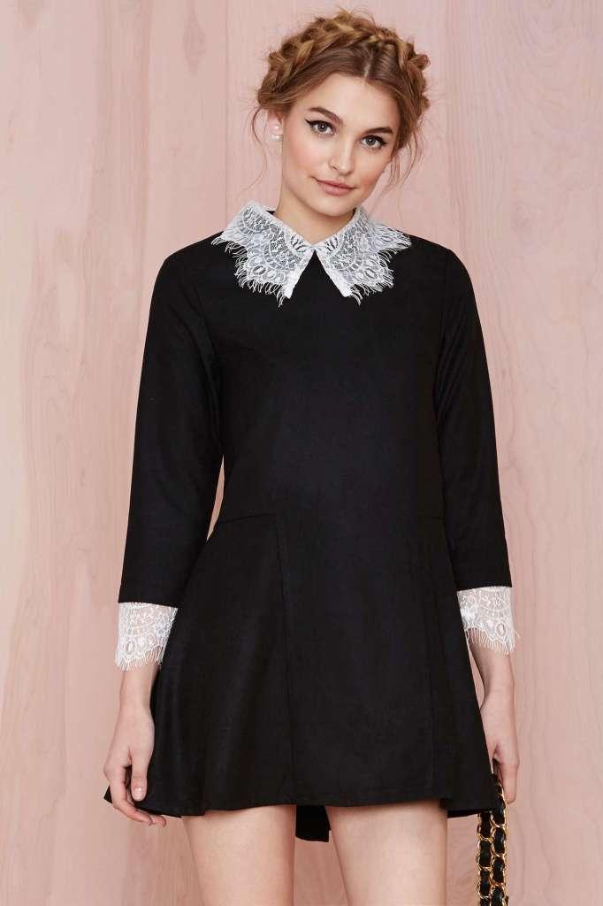 peter pan dress - unif - holidy dresses fall winter 2014