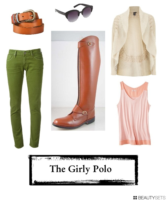 3ways to wear equestrain boots-polo