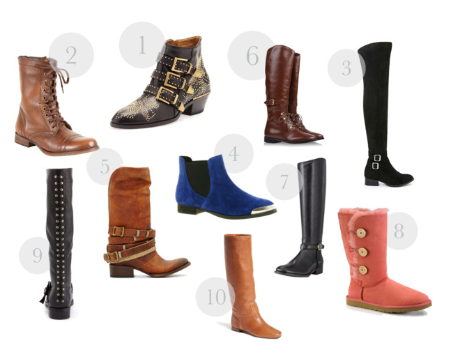 Flat Boots For Winter 2014 Season - all budgets, all styles
