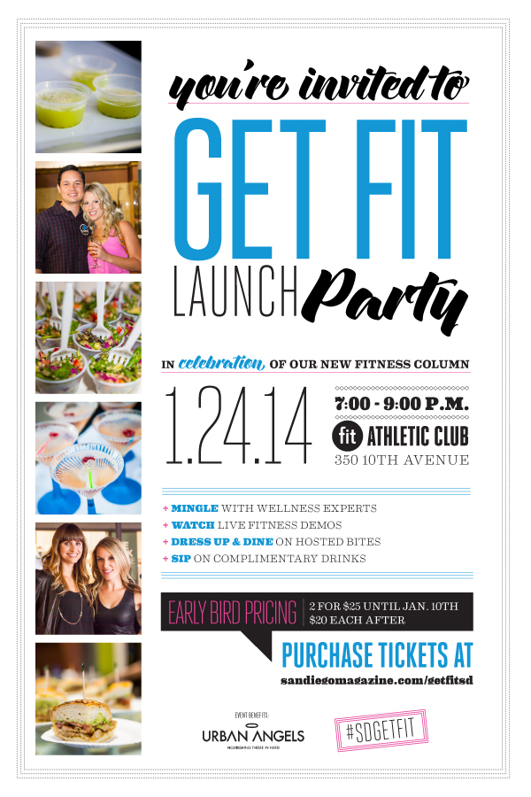 You're Invited: San Diego Magazine Get Fit Party