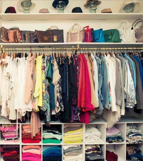 organize your closet - how to - tips