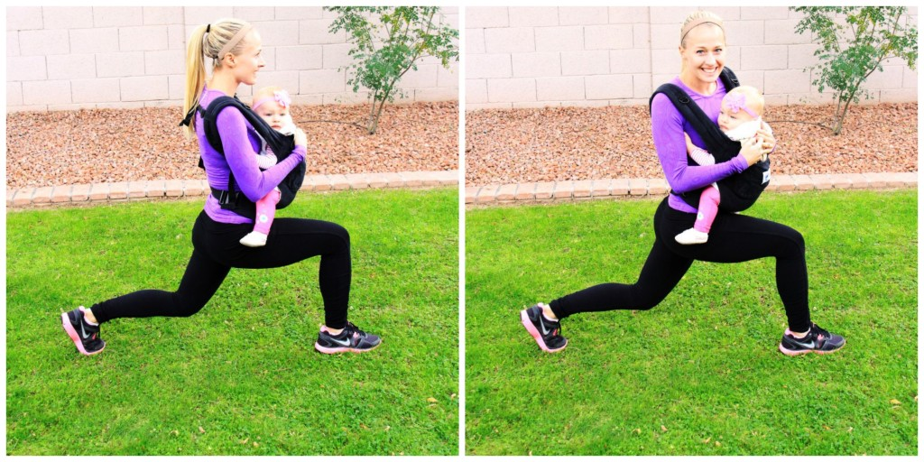 Working Out with Baby_Lunge