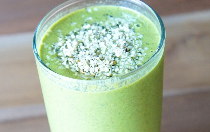 post workout nutrition rules - what to eat after workout - green fruit smoothie