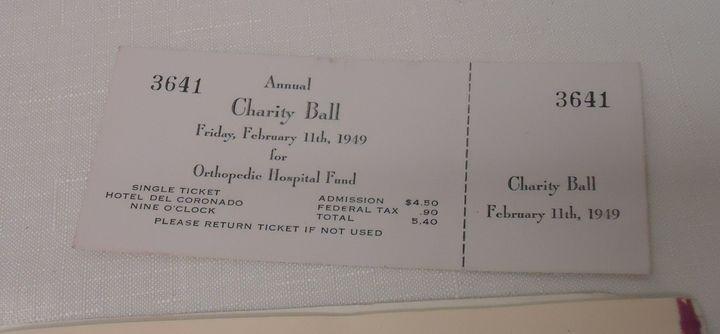 Charity ball rady childrens hospital ticket
