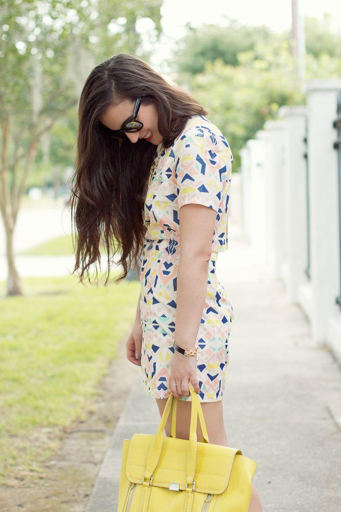 Spring Fashion Trends_Geometric-Print-Dress