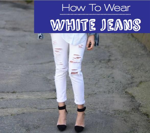 top White Denim styles for spring 2014