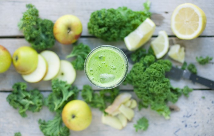 green juice recipe - benefits of juicing