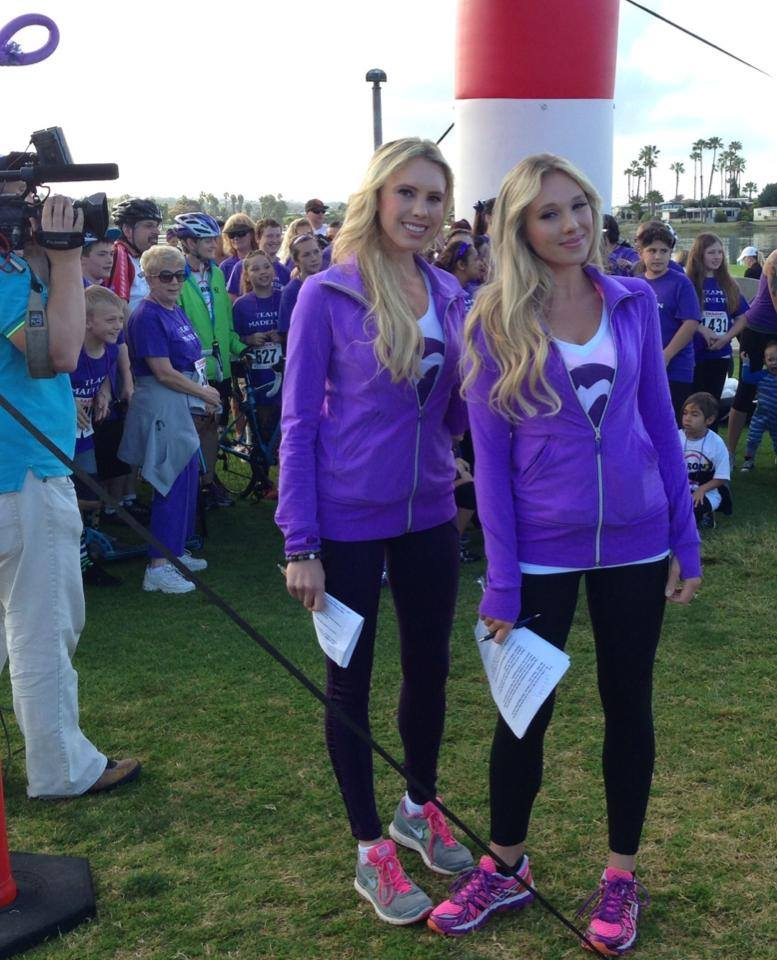 epilepsy foundation san diego - sharons ride run walk - nubry - britt and gretchen hackmann emcee of fundraiser