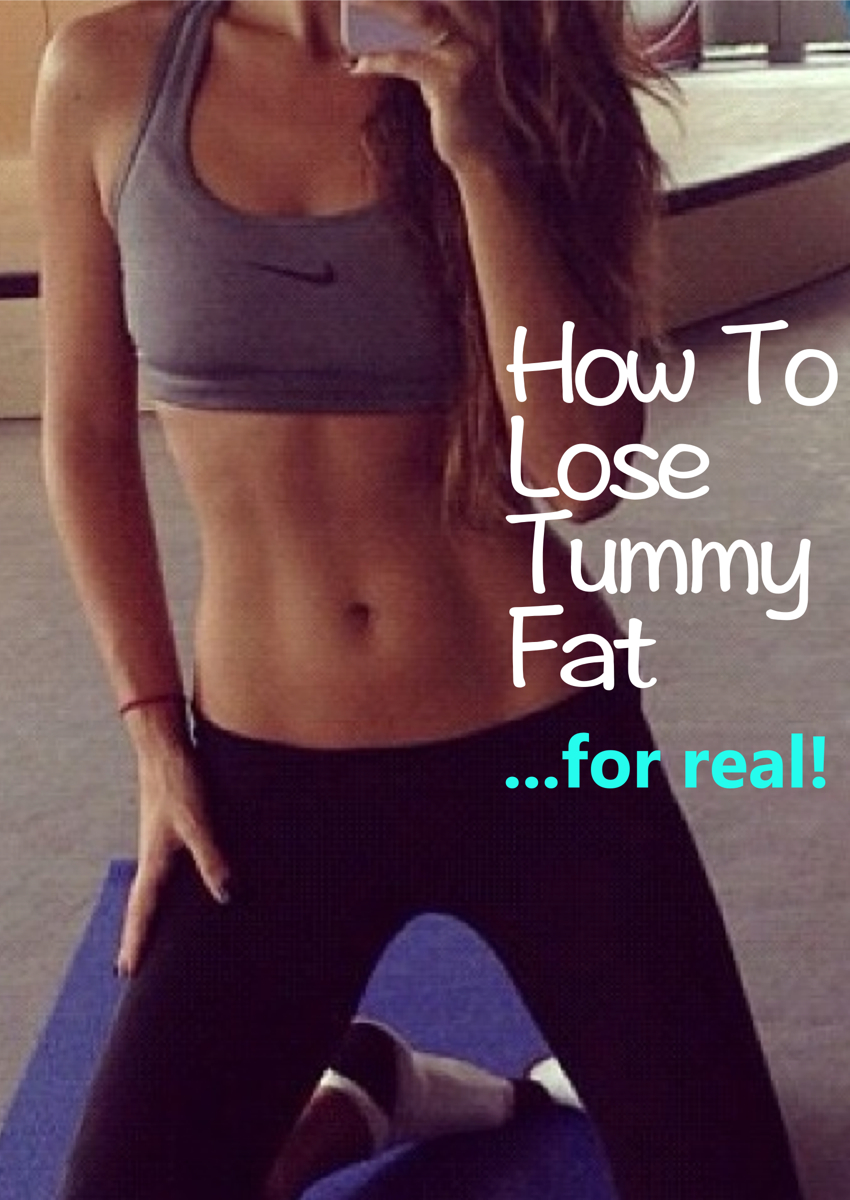 how to lose tummy fat