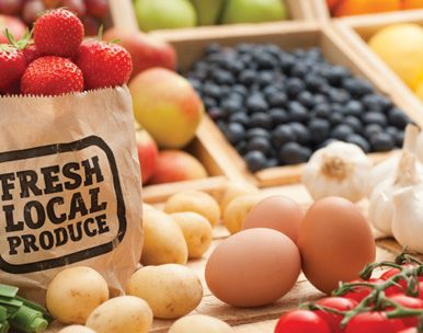 why buy local food