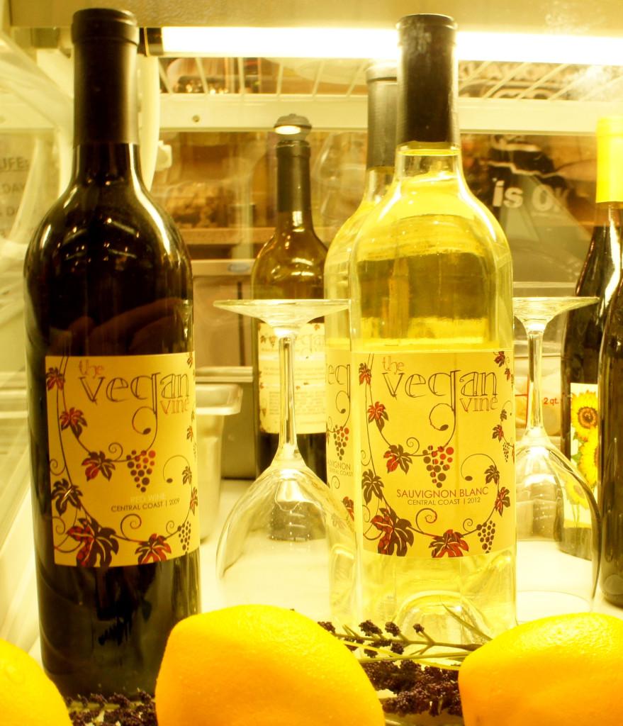 Native Foods Cafe's Vegan Wine