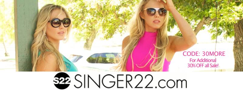 Singer 22 Summer Celebrity style