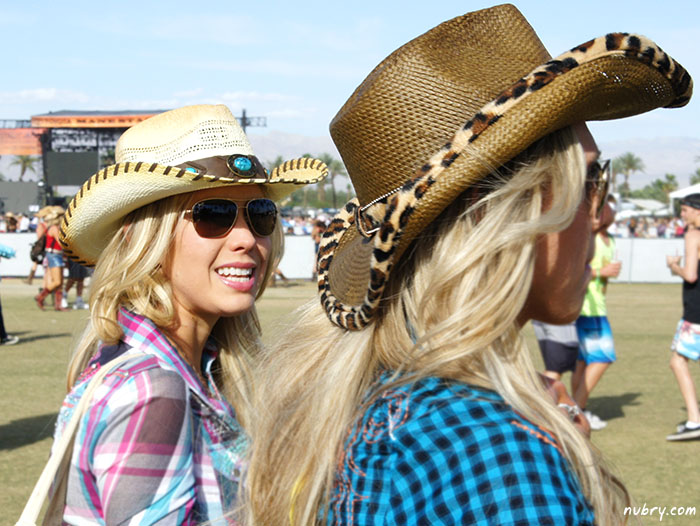 Stagecoach festival 2014 fashion trends - cowboy hats
