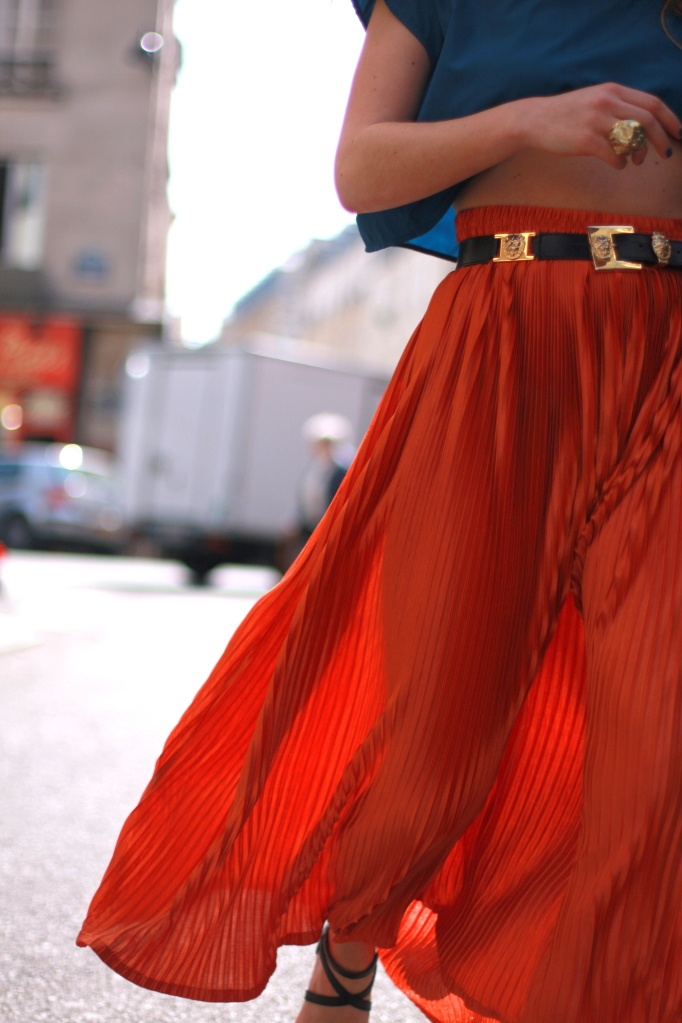 long red flowy maxi skirt - outfit ideas for memorial day weekend 2014