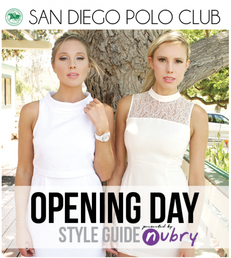 what to wear to polo opening day - official san diego polo club style club - styled by Nubry fashion blog