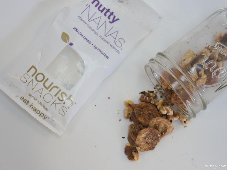 healthy snacks for work - nourish snacks