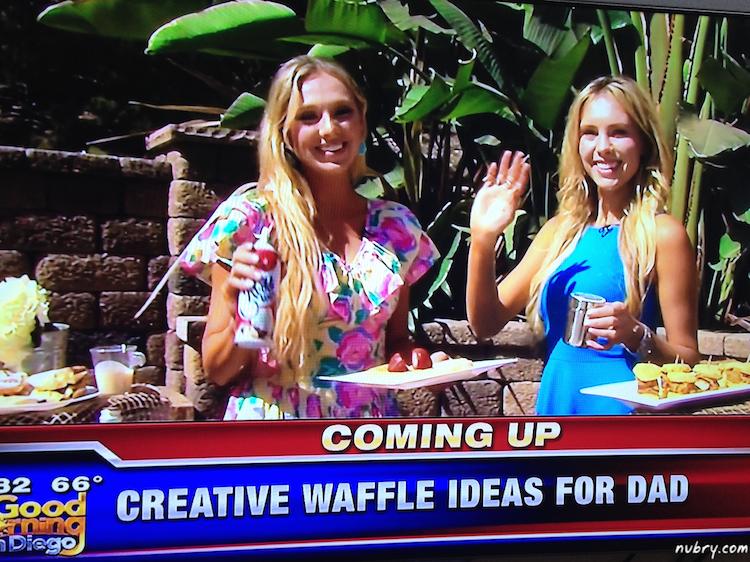 Sunday Brunch Waffle Bar - Fathers Day Waffle Brunch Ideas 1 (1)