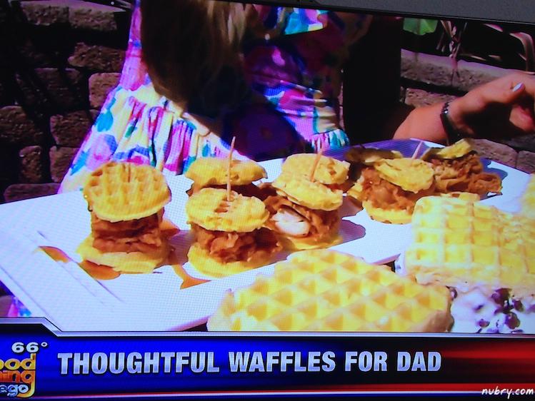 Sunday Brunch Waffle Bar - Fathers Day Waffle Brunch Ideas 5 (1)