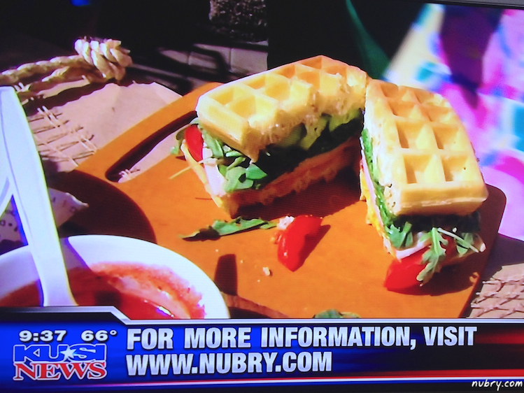 Sunday Brunch Waffle Bar - Fathers Day Waffle Brunch Ideas 6 (1)